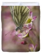 Impression With A Small Butterfly Duvet Cover