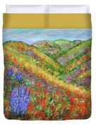 Impressionism- Flowers- Dreaming Of Spring Duvet Cover