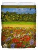 Impressionism Flowers- Pretty Posies Duvet Cover
