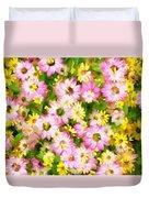 Impressionist Floral Ix Duvet Cover