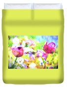 Impressionist Floral Xxxiii Duvet Cover
