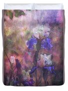 Impressionist Purple And White Irises 6647 Idp_2 Duvet Cover