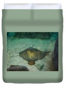 Impressionistic Sting Ray - 003 Duvet Cover