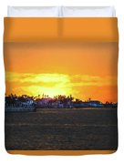 Impressionistic Sunset Duvet Cover