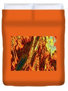 Impressions Of A Burning Forest 11 Duvet Cover