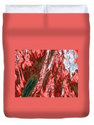 Impressions Of A Burning Forest 12 Duvet Cover