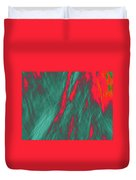 Impressions Of A Burning Forest 4 Duvet Cover