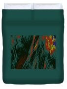 Impressions Of A Burning Forest 7 Duvet Cover