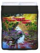 Impressions Of Summer Colors Duvet Cover