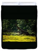 In A Field Of Gold Duvet Cover