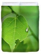 In A  Green World  Duvet Cover