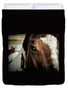 In A Horse's Eye Duvet Cover