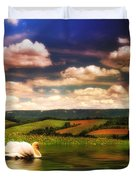 In A Land Far Away Duvet Cover