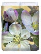In Apple Blossom Time Duvet Cover