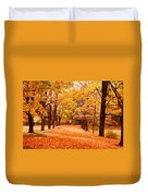In Autumn Duvet Cover