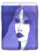 In Blue Colour Duvet Cover