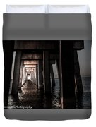 In From The Darkness  Duvet Cover by Kim Loftis