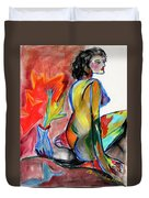 In Living Color Duvet Cover