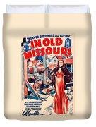 In Old Missouri 1940 Duvet Cover