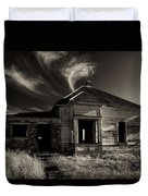 In Ruin Duvet Cover by Mike  Dawson