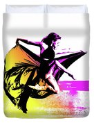 In Strength, Beauty Il Duvet Cover