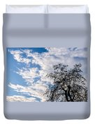 In That Quiet Earth - At Sunset Duvet Cover