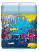 In The Cave Duvet Cover