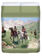 In The Cheyenne Country Duvet Cover