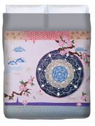 In The Clouds Duvet Cover