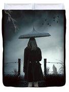 In The Dark Duvet Cover