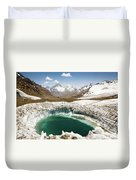 In The Depth Of Pamir Duvet Cover