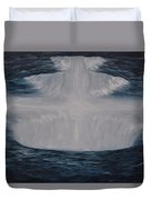 In The Depths Of Truth Duvet Cover