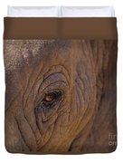 In The Eye Of The Elephant Duvet Cover