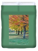 In The Fall Duvet Cover