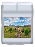 In The Field 25 Duvet Cover