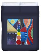 In The Flow Duvet Cover