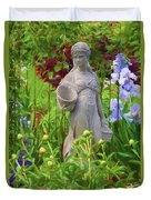 In The Flower Garden Duvet Cover