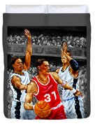 In The Game Duvet Cover