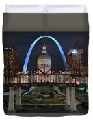 In The Heart Of St Louis Duvet Cover