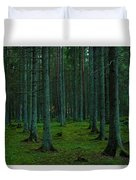 In The Middle Of The Forest Duvet Cover