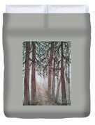 In The Mist Duvet Cover