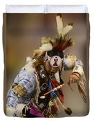 Pow Wow In The Moment Duvet Cover