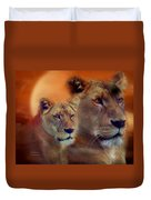 In The Moment Duvet Cover