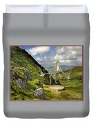 In The Mountains 22 Duvet Cover
