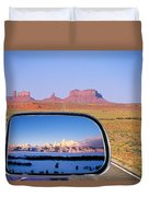 In The Rear View Mirror 2 Duvet Cover