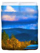 In The Rogue Valley Duvet Cover
