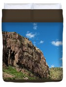 In The Royal Gorge Duvet Cover