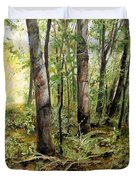In The Shaded Forest  Duvet Cover