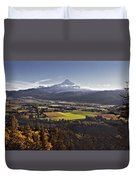 In The Shadow Duvet Cover