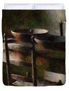 In The Shaker Kitchen Duvet Cover